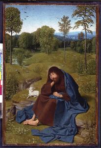 De H. Johannes de Doper in de wildernis