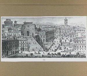Rome, Campidoglio en Santa Maria in Aracoeli