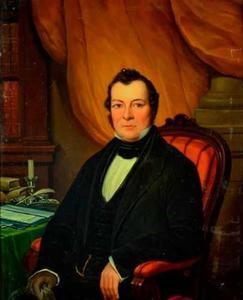 Portret van een man, mogelijk Paulus Langeveld (1804-1846)