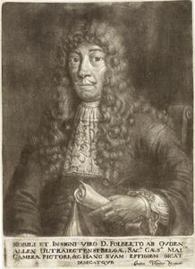 Portret van Folpert van Ouden Allen (1635-1715)