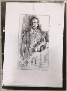 Portret van Christiaan ten Bosch (1840-1924)