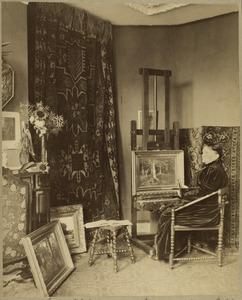 Portret van Maria Philippina van Bosse (1837-1900)