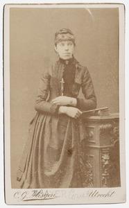 Portret van Grietje Zaaijer (1857-1943)