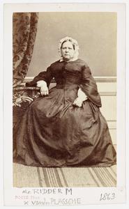 Portret van Maria de Ridder (1807-1867)