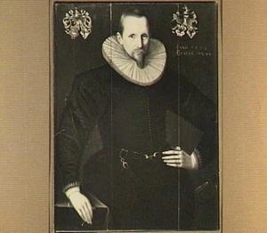 Portret van Haringh van Sytzama (1557-1612), echtgenoot van His Hesselsdr. van Emingha