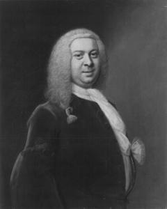 Portret van Senator Dr. Vincent Rumpf, later burgemeester van Hamburg