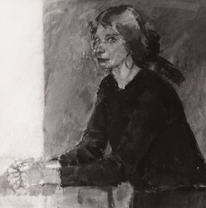 Portret van Theresa Penning (1947- )
