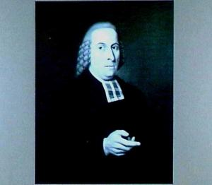 Portret van IJsbrand van Hamelsveld (1743-1812), hoogleraar Godgeleerdheid 1784-1787