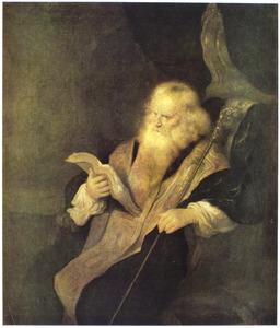 Lezende profeet