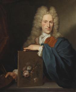 Portret van Jan van Huijsum (1682-1749)