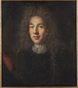 Portret van Johann Christian von Kretschmar und Flamischdorf (1650-1693)