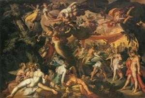 Het huwelijk van Peleus en Thetis