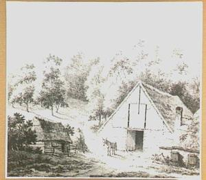 Schaapskooi aan de voet van de buitenplaats Duno bij Doorwerth