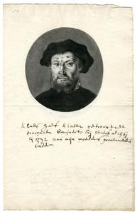 Portret van Claes Claesz. Gaeff (....-1561)