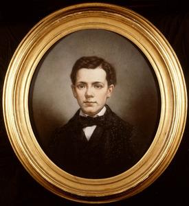 Portret van Wicher Woldringh van der Hoop (1847-1867)