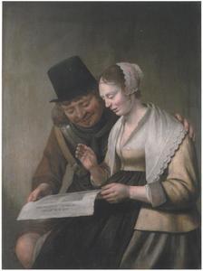 Zingend paar