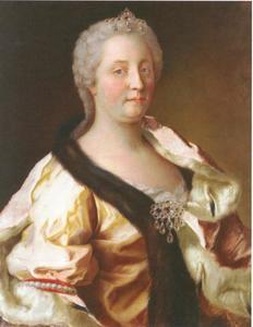 Portet van Maria Theresia van Oostenrijk (1704-1765)