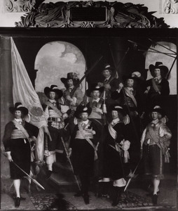 Het vendel van kapitein Claes Willemsz. Jager, 1655