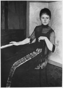 Portret van Maria Francisca Louisa Dommer van Poldersveldt (1848-1925)