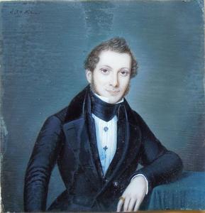 Portret van een onbekende man, mogelijk uit de familie Delprat