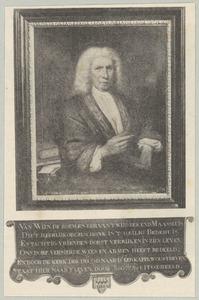 Portret van Govert van Wijn (1642-1738)