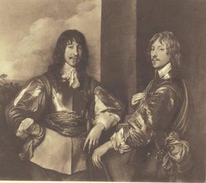 Dubbelportret van Mountjoy Blount, 1st Earl of Newport (?-1666) en George, Lord Goring (1608-1657)