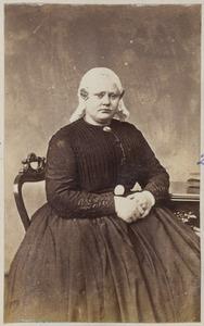 Portret van een vrouw uit familie Reitsma