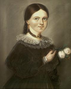 Portret van Mathilde Petronella Johanna Toutenhoofd (1829-1857)