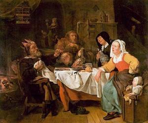 De koning drinkt (Driekoningenfeest)
