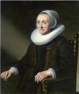 Portret van een 79-jarige vrouw