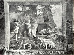 Noach en zijn gezin verlaten de ark (Genesis 8:18 - 9:17)