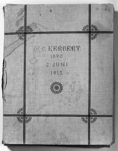 Linnen omslag van het Kerbert Album