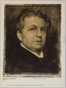 Portret van Dr. Abraham Kuyper (1837-1920)