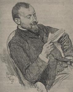 Portret van Maurits Karel Herman Wagenvoort (1859-1944)