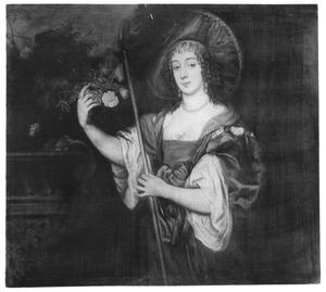 Portret van Dorothy Sidney, Lady Spencer, later Countess of Sunderland (1617-1684) als herderin