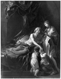 Jacob zegent Efraim en Manasse, de zonen van Jozef (Genesis 48:1-22)