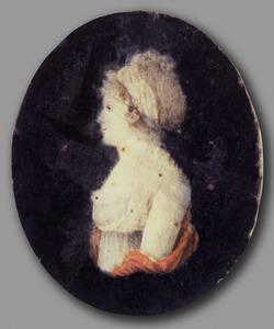 Portret van Adelaide Aurore van Neukirchen genaamd Nyvenheim (1781-1802)
