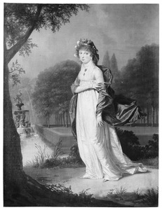 Portret van Antonia Joanna Barbara Half-Wassenaar van Onsenoort (1780-1860)