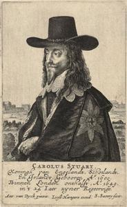 Portret van Charles I Stuart (1600-1649), koning van Engeland