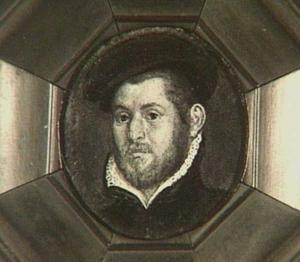 Portret van Jacob Pietersz. Bicker (1555-1587)