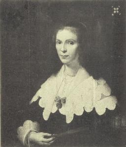 Portret van Jacoba van Erp