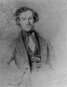 Portret van Jan Adriaan Zaal Stroband (1813-1889)