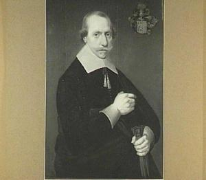 Portret van een man van het geslacht Semeyns, mogelijk Meindert Allertzn. (1608-1652) of Pieter Allertzn. (1610-1666)