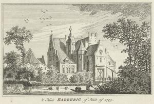 Huis Babberich of Halsaf bij Zevenaar