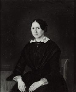 Portret van Ursula Brenninkmeijer (1822-1891)