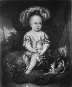 Portret van Willem George Friso van Nassau-Dietz (1685-1686)