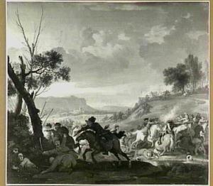 Strijd tussen keizerlijke en Turkse troepen