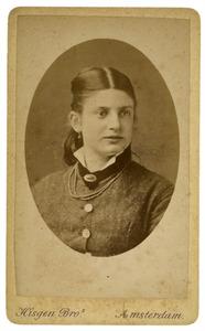 Portret van Cornelia Elizabeth van der Wissel (1860-1936)