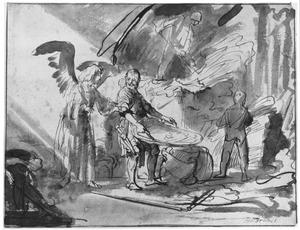 De engel en Gideon (Rechters 6)