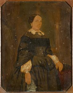 Portret van Cornelia Maria Lindeman (1819-1866)